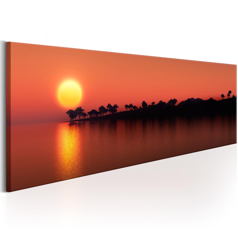 Obraz - Tree Island 150x50