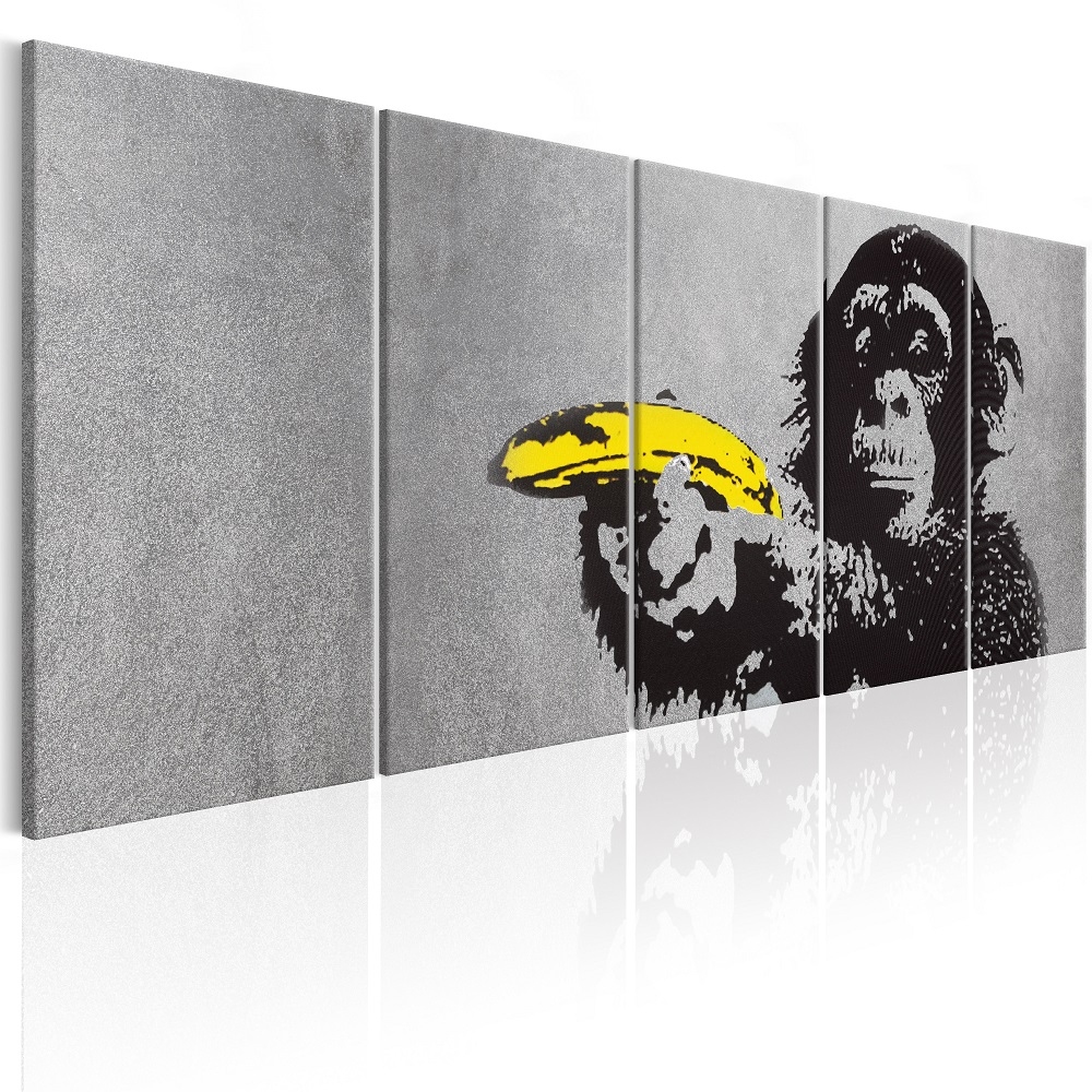 Obraz - Monkey and Banana 225x90