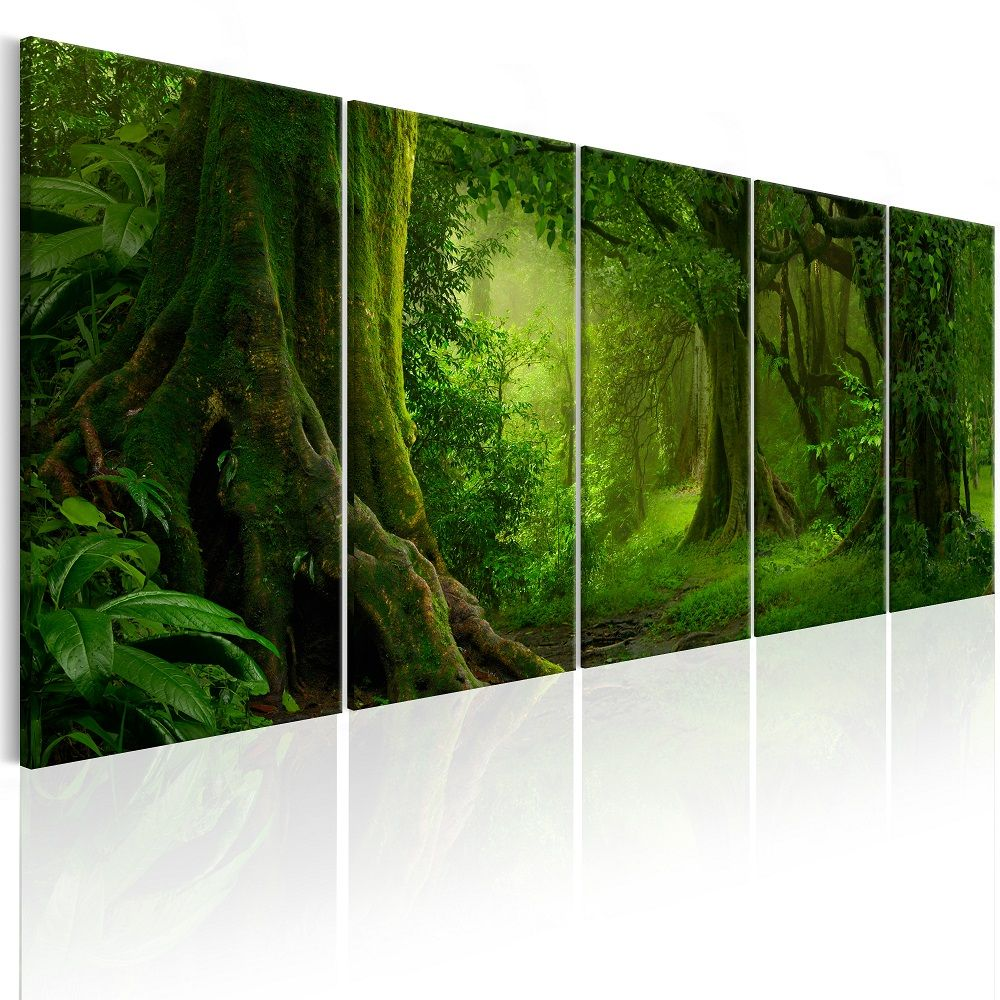 Obraz - Tropical Jungle 200x80