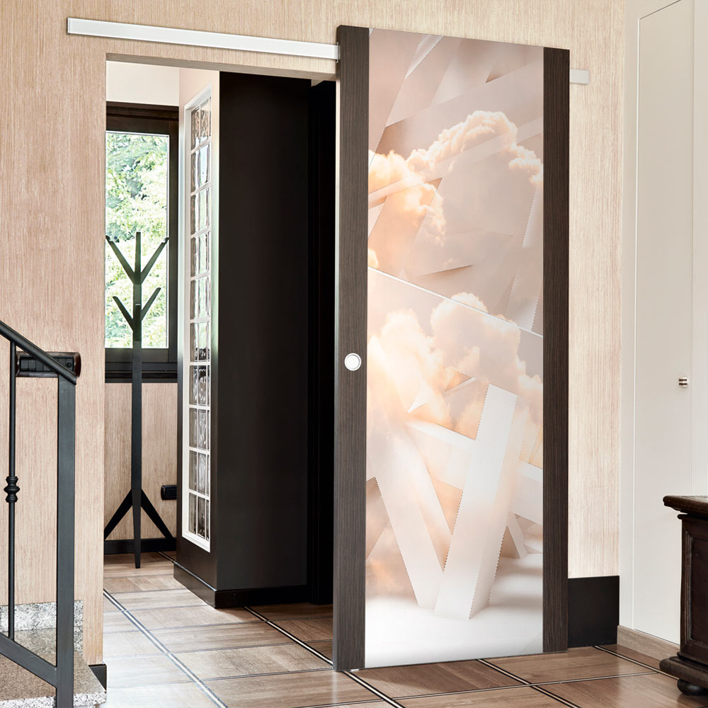 Fototapeta na dveře - Heavenly Stairs 70x210