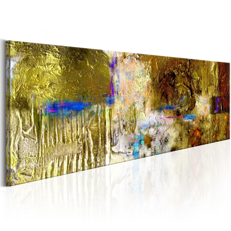 Ručně malovaný obraz - Solar Treasure 120x40