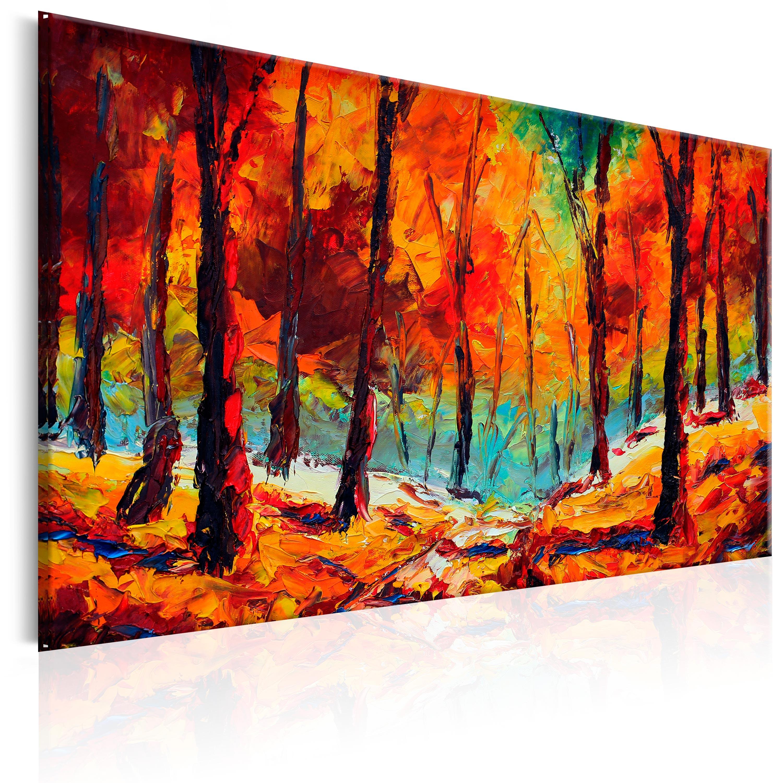 Ručně malovaný obraz - Artistic Autumn 120x80