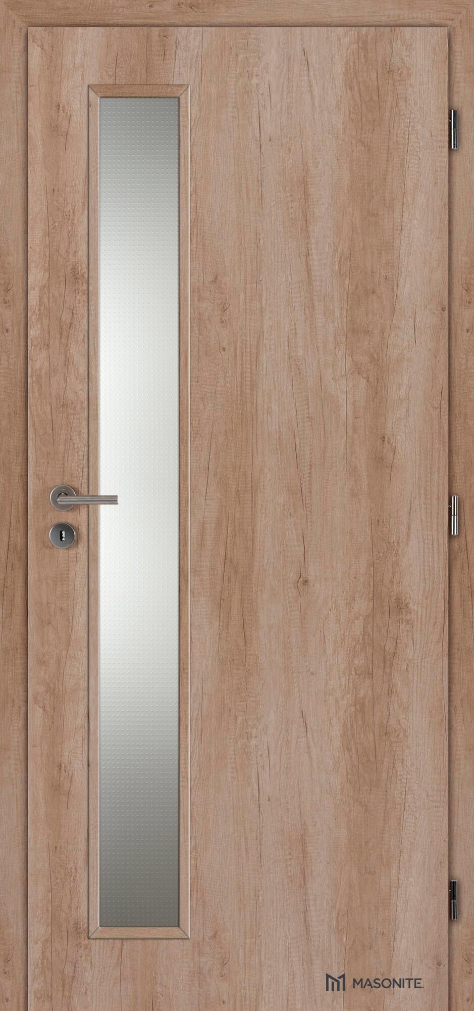 Interiérové dveře Masonite VERTIKA sklo CPL premium