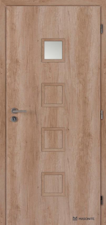 Interiérové dveře Masonite QUADRA 1 CPL premium
