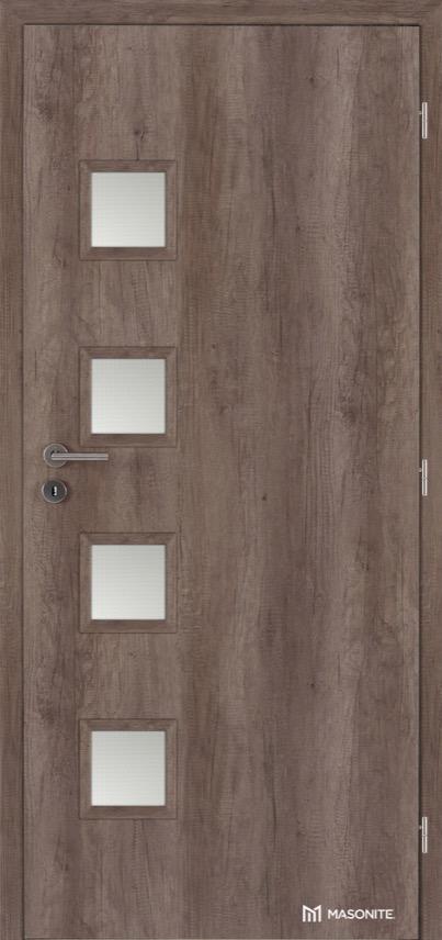 Interiérové dveře Masonite GIGA sklo CPL premium