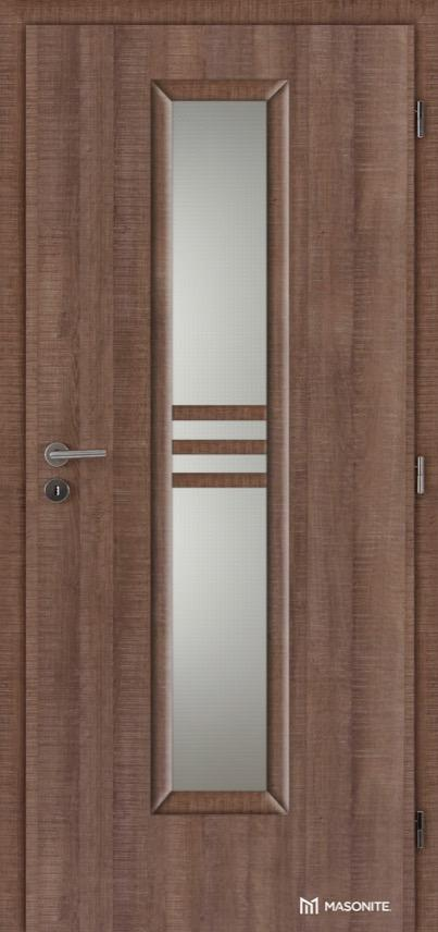 Interiérové dveře Masonite STRIPE sklo CPL premium