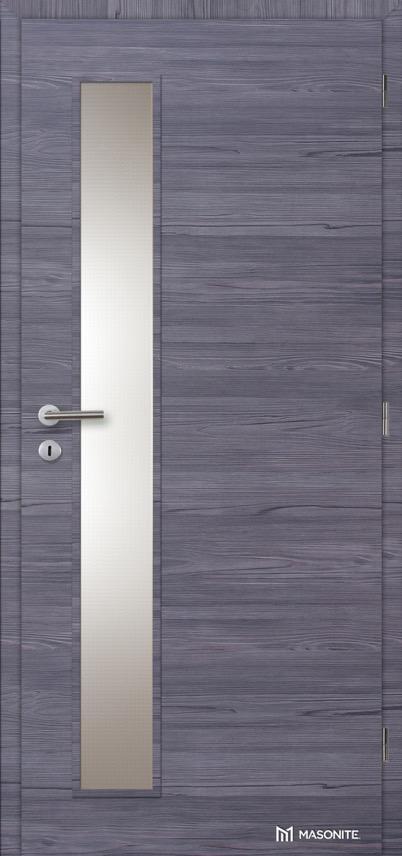 Interiérové dveře Masonite VERTIKA sklo CPL Deluxe