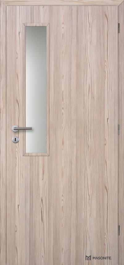 Interiérové dveře Masonite VERTIKUS sklo CPL Deluxe