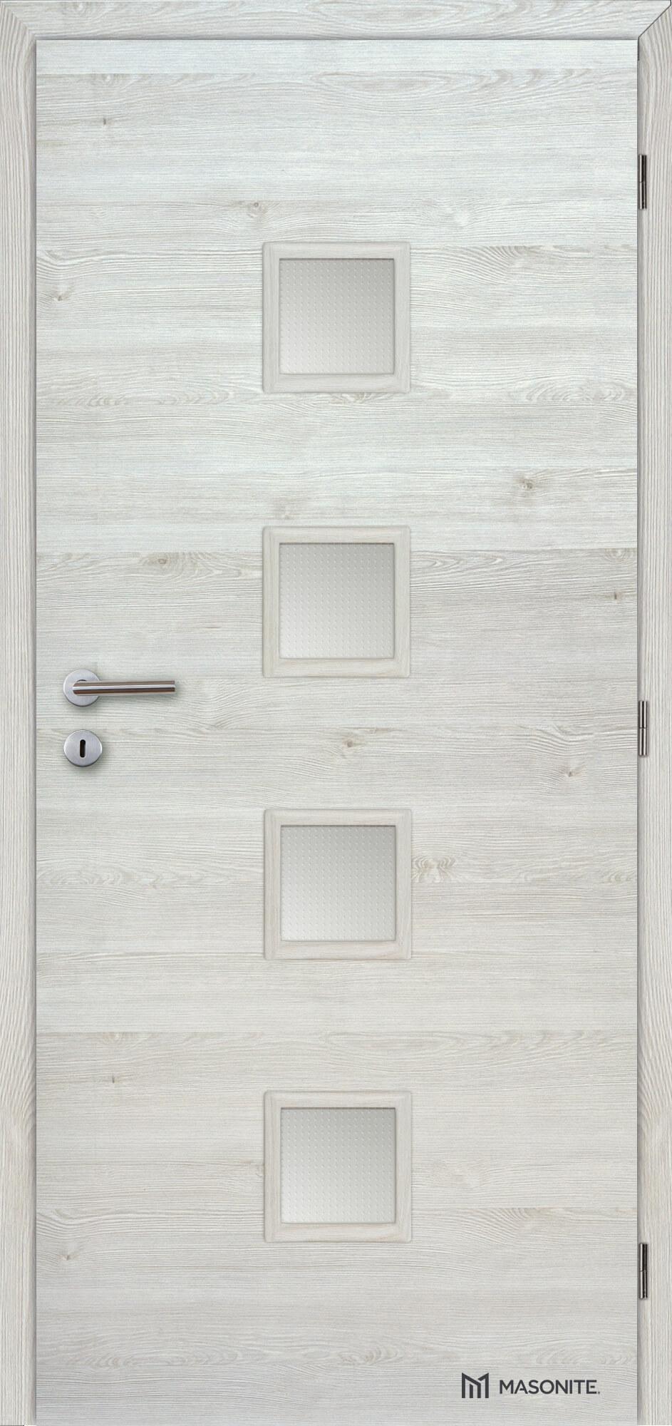 Interiérové dveře Masonite QUADRA sklo CPL Deluxe