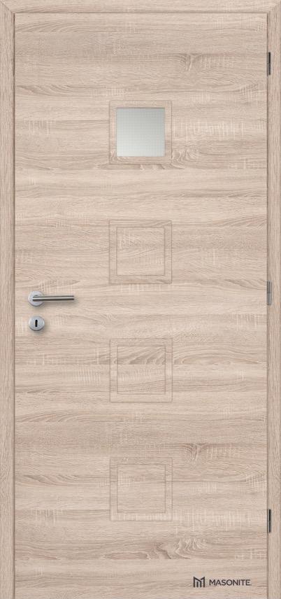Interiérové dveře Masonite QUADRA 1 CPL Deluxe