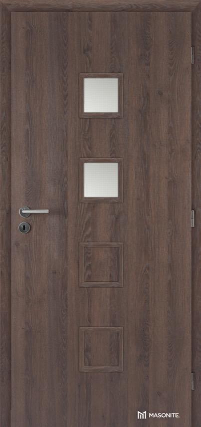 Interiérové dveře Masonite QUADRA 2 CPL Deluxe