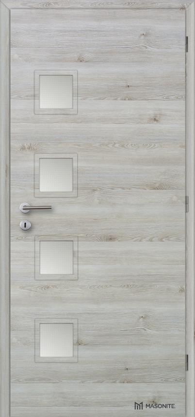 Interiérové dveře Masonite GIGA sklo CPL Deluxe