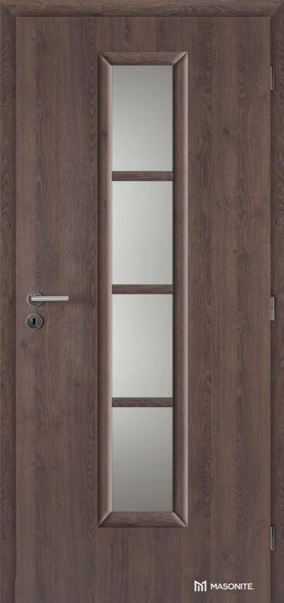 Interiérové dveře Masonite AXIS sklo CPL Deluxe