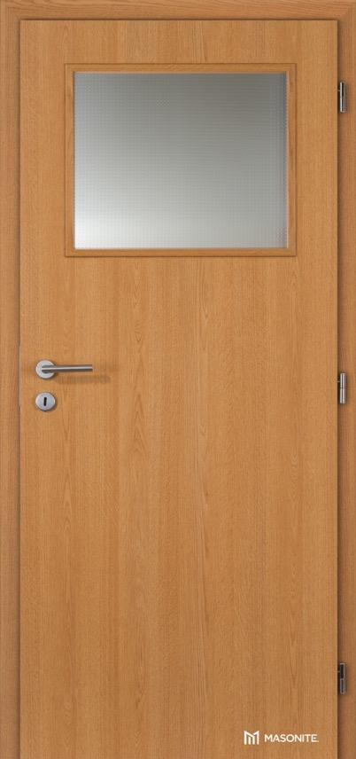 Interiérové dveře Masonite prosklené 1/3 CPL Standard