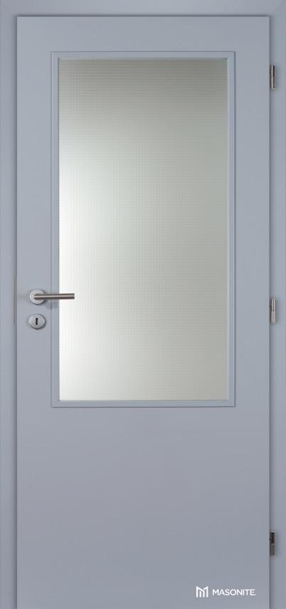 Interiérové dveře Masonite prosklené 2/3 CPL Standard