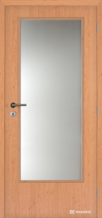 Interiérové dveře Masonite prosklené 3/4 CPL Standard