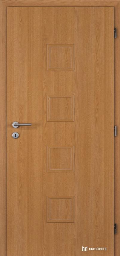 Interiérové dveře Masonite QUADRA plné CPL Standard