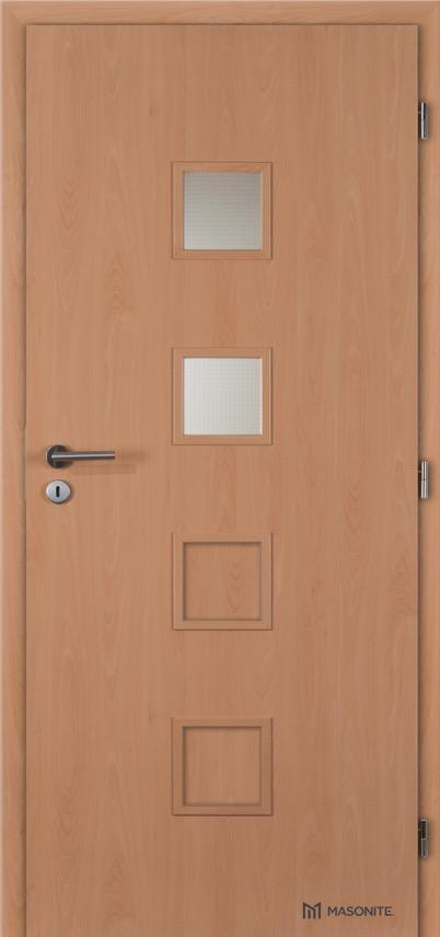 Interiérové dveře Masonite QUADRA 2 CPL Standard