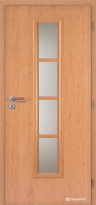 Interiérové dveře Masonite AXIS sklo CPL Standard