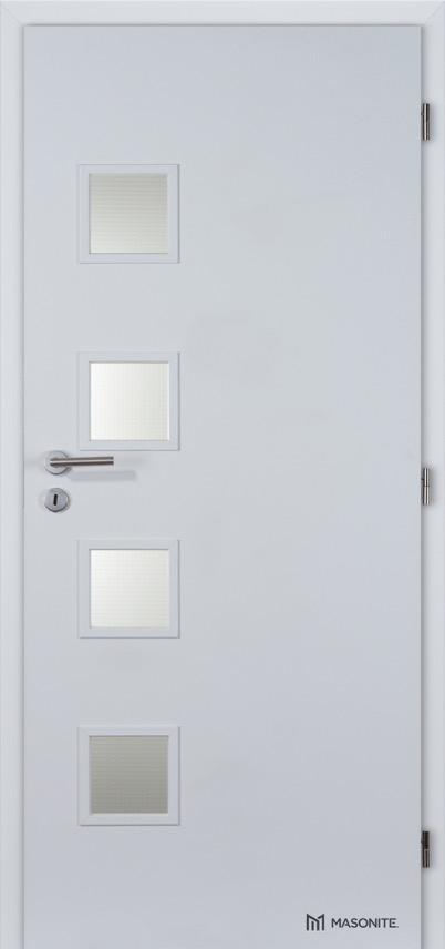 Interiérové dveře Masonite GIGA sklo CPL Standard