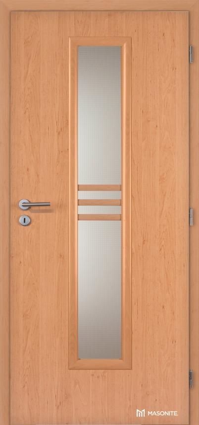 Interiérové dveře Masonite STRIPE sklo CPL Standard