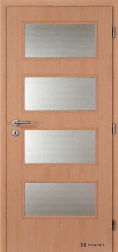 Interiérové dveře Masonite DOMINANT sklo CPL Standard
