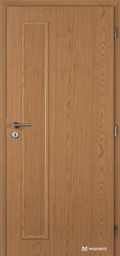 Interiérové dveře Masonite VERTIKA plné Kašírovací fólie