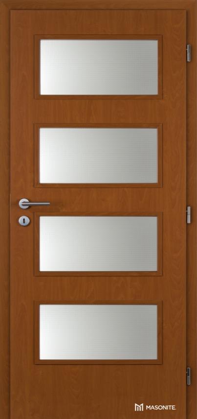 Interiérové dveře Masonite DOMINANT sklo Kašírovací fólie