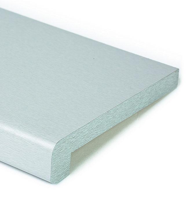 Vnitřní dřevotřískový parapet stříbrná hloubka do 250mm