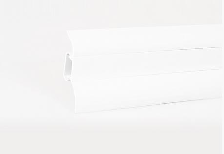 Soklová lišta LP 52 bílá (400)