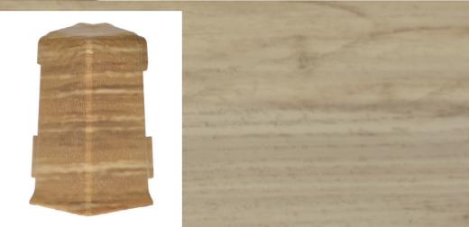 Roh venkovní k soklové liště QUADRO v dekoru dub aldabra (001Q)
