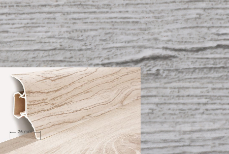 Soklová lišta QUADRO v dekoru dub calisto (019Q)