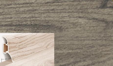 Soklová lišta QUADRO v dekoru dub skalnatý (016Q)