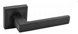 DumTrade rozetové kování QUADRO QR15 bez rozety matná černá