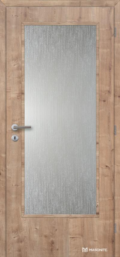 Interiérové dveře Masonite Prosklené 4/5 CPL Premium