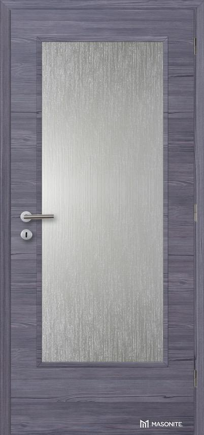 Interiérové dveře Masonite Prosklené 4/5 CPL Deluxe