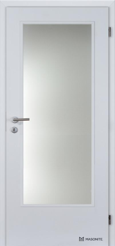 Interiérové dveře Masonite Prosklené 4/5 CPL Standard
