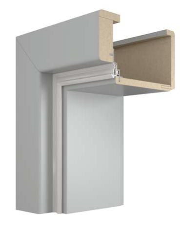 Obklad kovové zárubně VIVENTO OKZ (ZOS) - dekory FF a LAK