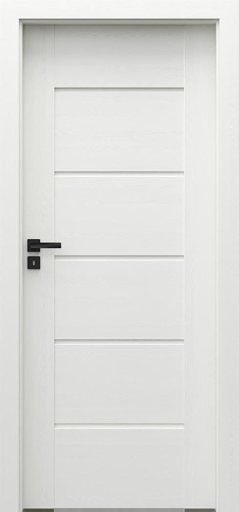 Interiérové dveře PORTA VERTE PREMIUM E.0