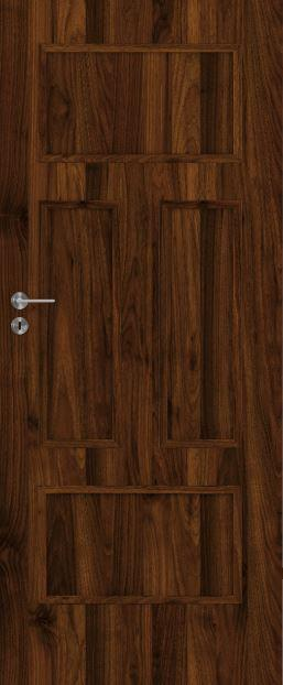 Deskové interiérové dveře VIVENTO - BASIC  - BERGAMO 0/4