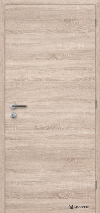 Interiérové protipožární dveře Masonite plné hladké CPL Deluxe