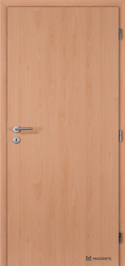 Interiérové protipožární dveře Masonite plné hladké CPL Standard