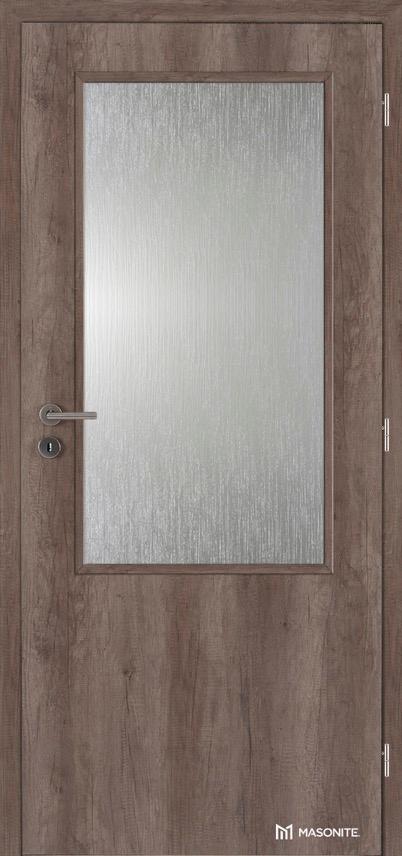 Interiérové protipožární dveře Masonite Prosklené 2/3 CPL premium