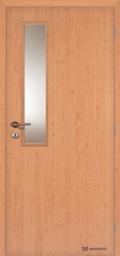 Interiérové protipožární dveře Masonite VERTIKUS sklo CPL Standard