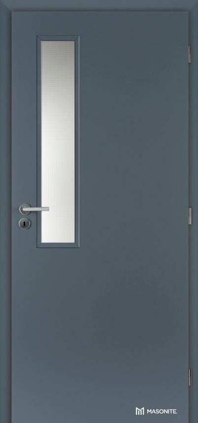 Interiérové protipožární dveře Masonite VERTIKUS sklo CPL premium