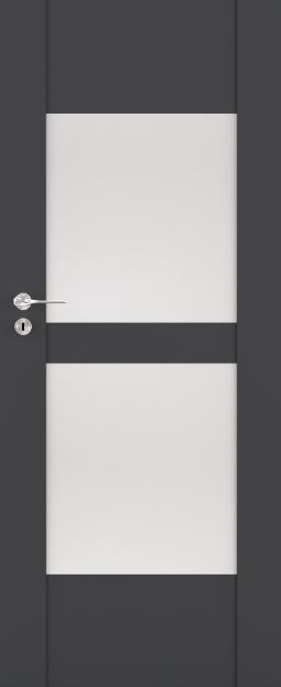 Exkluzivní rámové interiérové dveře VIVENTO - BRILLIANT BC - 03 vč. obložky
