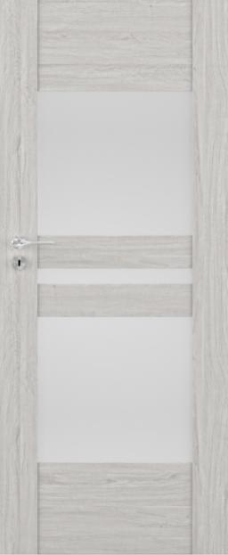 Exkluzivní rámové interiérové dveře VIVENTO - BRILLIANT BD - 02 vč. obložky