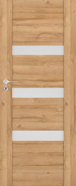 Exkluzivní rámové interiérové dveře VIVENTO - BRILLIANT BG - 02 vč. obložky