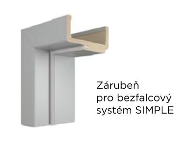Obložky VIVENTO DIN pro bezfalcový systém SIMPLE - PP
