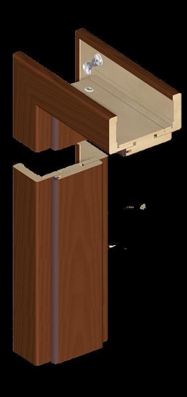 Nastavitelná obložka bezfalcová ORS7 a ORS10 laminát Eco-Fornir a fólie Fornir Forte